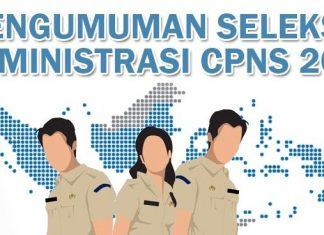Pengumuman Hasil Seleksi Administrasi CPNS 2018 Kabupaten Sumedang